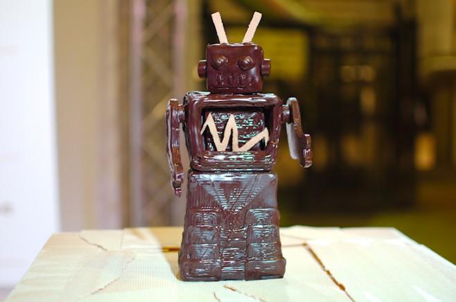 Ośmiogłowicowa drukarka 3D w fabryce czekolady w Afryce1