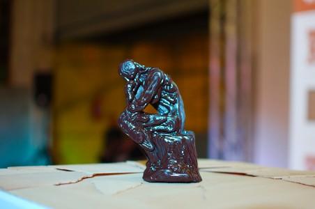 Ośmiogłowicowa drukarka 3D w fabryce czekolady w Afryce8