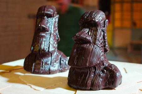 Ośmiogłowicowa drukarka 3D w fabryce czekolady w Afryce9