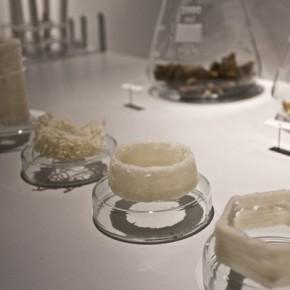 Wydruki 3D  z wosku pszczelego