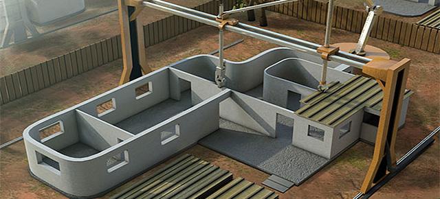 Contour Crafting – budowa domu w 24 godziny