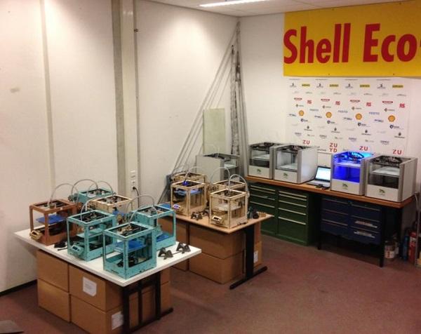 Druk 3D w Shell Eco-Marathon 2014-4