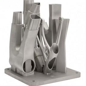 Lekka tytanowa rama rowerowa drukowana 3D