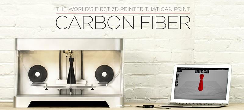 Pierwsza na świecie drukarka 3D drukująca z włókna węglowego1