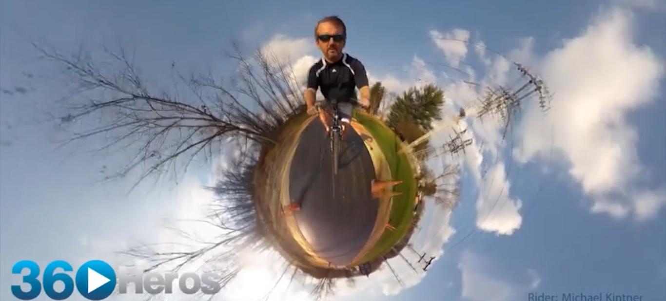 Piorunujący efekt filmowania 6 kamerami GoPro