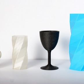 Test wytłoczonych materiałów na drukarce 3D