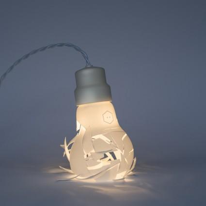 Nietypowe lampy wydrukowane przez szwedzkiego projektanta
