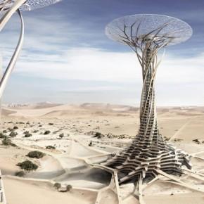 Sand Babel: Drapacz chmur wykonany z piasku pustyni