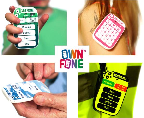 OwnFone - wydrukowany telefon przeznaczony dla osób niewidzących
