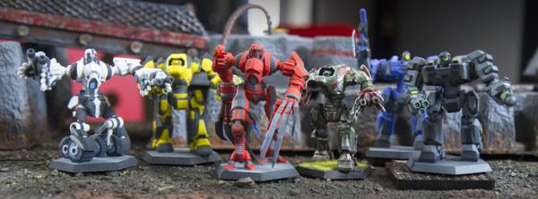 Wydrukuj własną armie Mech Maker1