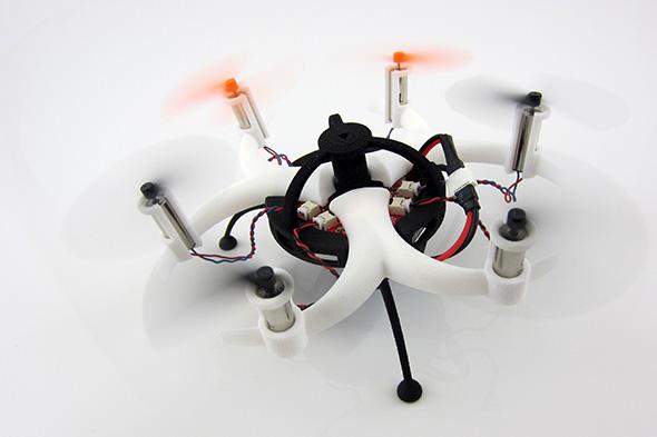 iMaterialise ogłosiło wyniki konkursu na projekt drukowanego drona-1