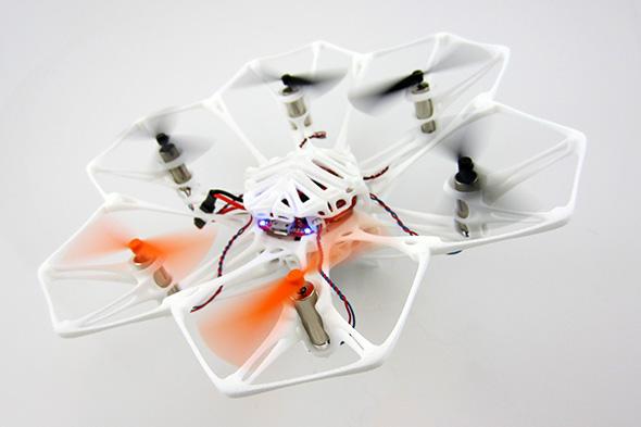 iMaterialise ogłosiło wyniki konkursu na projekt drukowanego drona-2