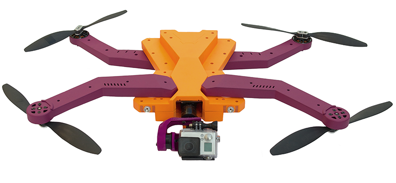 Latający dron AirDog będzie śledził Twoje ekstremalne wyczyny-2