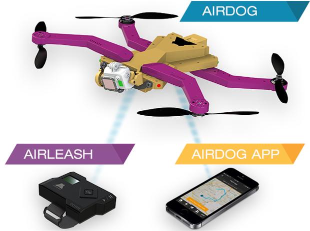 Latający dron AirDog będzie śledził Twoje ekstremalne wyczyny-5