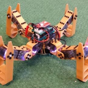 Spidey - drukowany 3D robot Open Source
