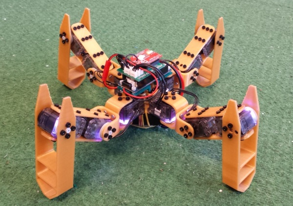 Spidey – drukowany 3D robot Open Source