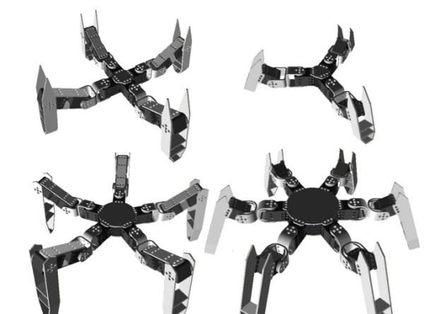 Spidey - drukowany 3D robot Open Source-2