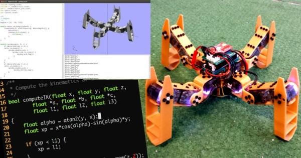 Spidey - drukowany 3D robot Open Source-3
