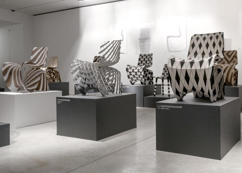 Meble z drukarki 3D na wystawach6