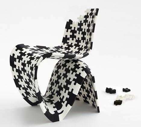 Meble z drukarki 3D na wystawach7