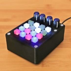Drukowany kontroler MIDI: Mini OONTZ