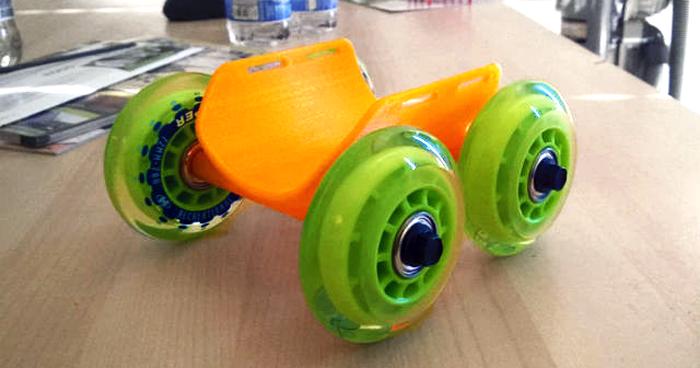 Niepełnosprawny piesek Chihuahua dostał wydrukowany wózek1