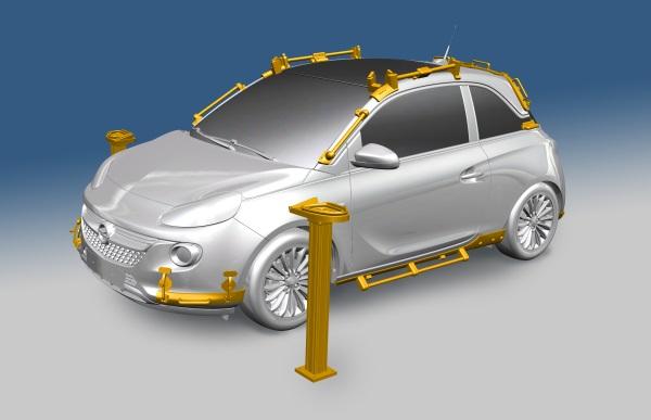 Opel korzysta z 40 wydrukowanych narzędzi montażowych przy produkcji ADAM ROCKS-1