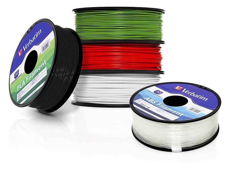 Verbatim wkracza na rynek druku 3D, oferując całą gamę filamentów-1
