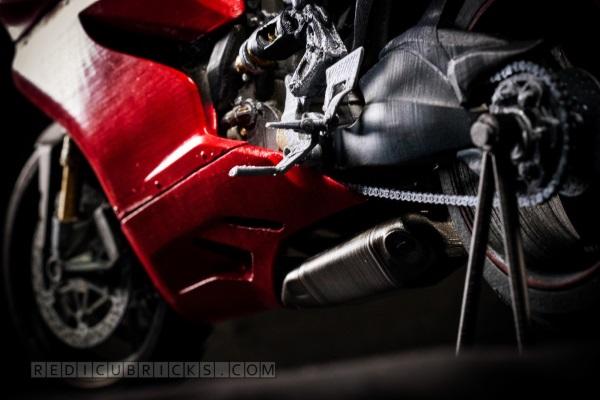 Bardzo szczegółowy, wydrukowany model Ducati 119916