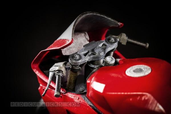Bardzo szczegółowy, wydrukowany model Ducati 119917