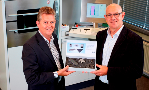 Philips Smit Röntgen wprowadza produkty wolframowe wykonane dzięki SLS-1