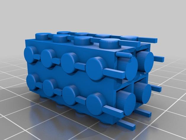 Wydrukuj własne klocki MyBuild pasujące do LEGO6