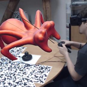 VRClay – rzeźbienie w wirtualnej rzeczywistości dzięki Oculus Rift
