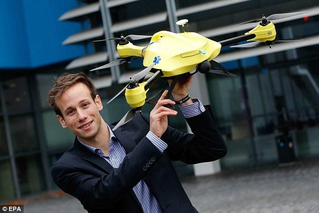 Dron ratujący życie już niedługo będzie latał w Holandii-2