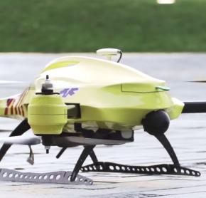 Dron ratujący życie już niedługo będzie latał w Holandii