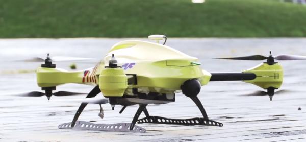 Dron ratujący życie już niedługo będzie latał w Holandii-3
