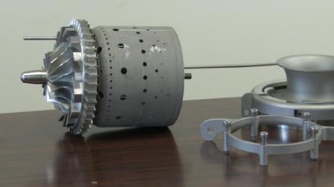 GE drukuje funkcjonalny silnik odrzutowy-1