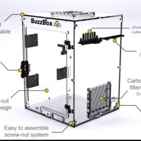 BuzzBox - uniwersalna obudowa do drukarek 3D