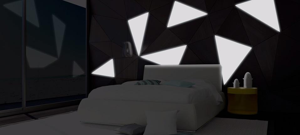 Cienkie jak papier źródło światła LED wydrukowane w 3D-slid