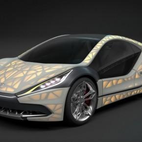 Ultralekki samochód z drukarki 3D - Light Cocoon