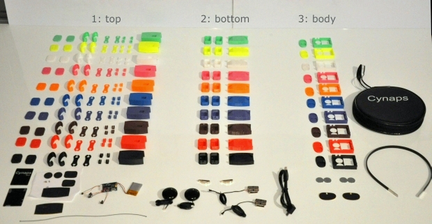 Zestaw słuchawkowy z kostnym przewodnictwem dźwięku10