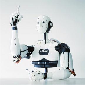 Drukowany robot InMoov zabiera dzieci ze szpitala do Zoo