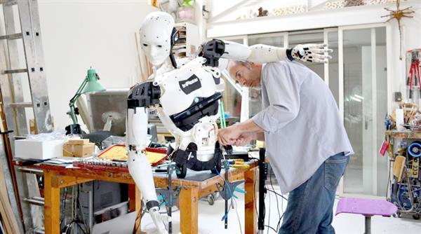 Drukowany robot Inmoove -7