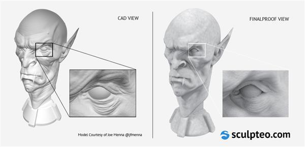 FinalProof darmowe narzędzie do realistycznego podglądu wydruku 3D1