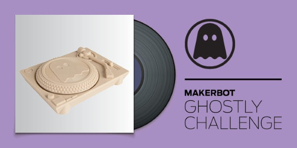 Makerbot Ghostly Vinyl 3D-1
