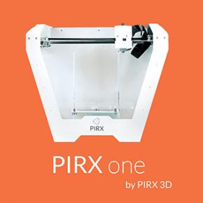 PIRX ONE - nowa drukarka od Pirx 3D