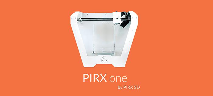 PIRX ONE – nowa drukarka od Pirx 3D