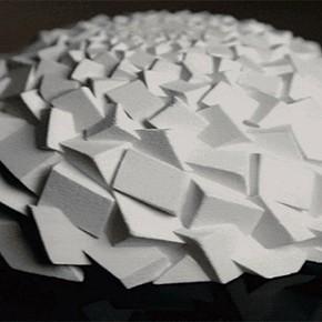 Struktury Fibonacciego wydrukowane na drukarce 3D