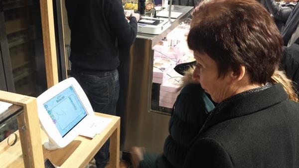 Pierwsza drukarka 3D drukująca z czekolady wykorzystana w supermarkecie-3