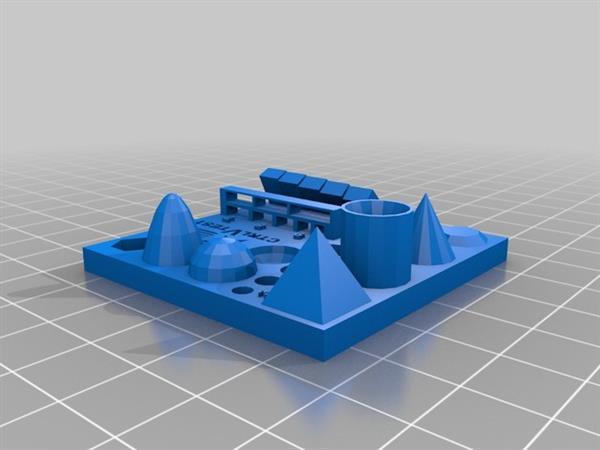 Przetestuj ograniczenia swojej drukarki 3D za pomocą modelu testowego-2